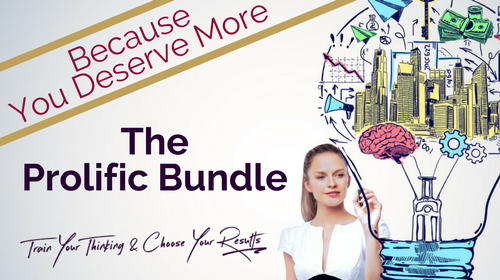 Power To Thrive Bundle Because You Deserve More Tribe Thrive